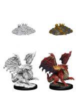 D&D Nolzur's Marvelous Miniatures: Red Dragon Wyrmling
