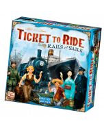 Ticket to Ride: Rails & Sails - Box