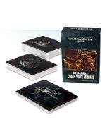 Warhammer 40k: Datacards: Chaos Space Marines