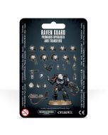 Warhammer 40k: Raven Guard Primaris Upgrades and Transfers