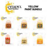 Yellow Paint Bundle