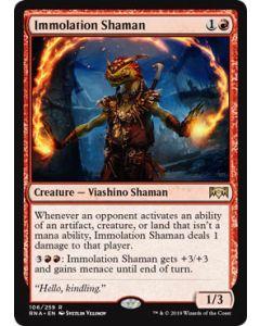 Ravnica Allegiance: Immolation Shaman