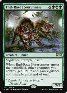 Ravnica Allegiance: End-Raze Forerunners