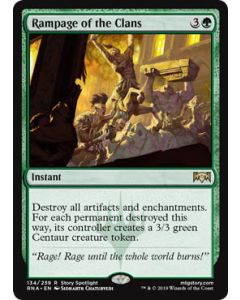 Ravnica Allegiance: Rampage of the Clans