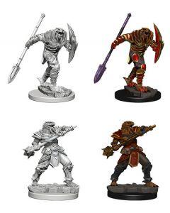 D&D Nolzur's Marvelous Miniatures: Dragonborn Fighter with Spear