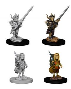 D&D Nolzur's Marvelous Miniatures: Halfling Fighter