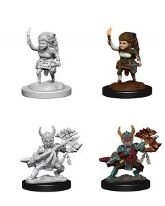 D&D Nolzur's Marvelous Miniatures: Halfling Fighter 2