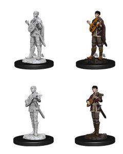D&D Nolzur's Marvelous Miniatures: Half-Elf Bard