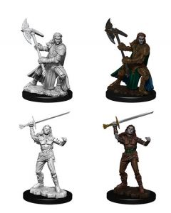 D&D Nolzur's Marvelous Miniatures: Half-Orc Fighter