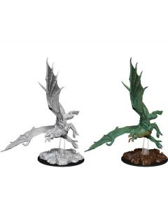 D&D Nolzur's Marvelous Miniatures: Young Green Dragon