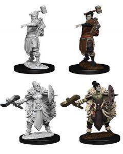 D&D Nolzur's Marvelous Miniatures: Half-Orc Barbarian