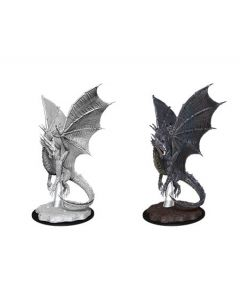 D&D Nolzur's Marvelous Miniatures: Young Silver Dragon