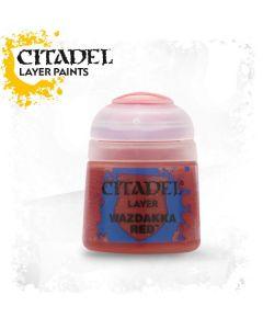 Citadel Layer Paint: Wazdakka Red