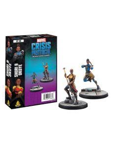 Marvel Crisis Protocol: Shuri and Okoye Character Pack