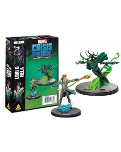 Marvel Crisis Protocol: Loki and Hela Character Pack