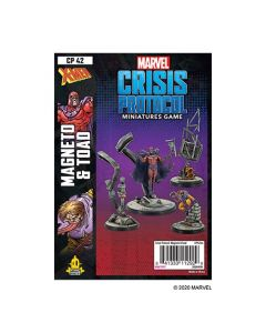 Marvel Crisis Protocol: Marvel Crisis Protocol: Magneto & Toad Character Pack