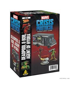 Marvel Crisis Protocol: Deadpool & Bob, Agent of Hydra Character Pack
