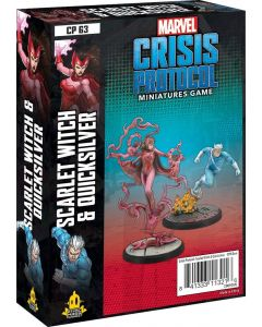 Marvel Crisis Protocol: Scarlet Witch & Quicksilver Character Pack