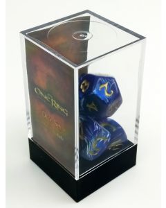 The One Ring: Dice Set Blue and White (1 set of 7 dice)