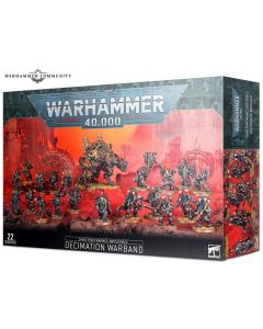 Warhammer 40k: Battleforce: Chaos Space Marines Decimation Warband