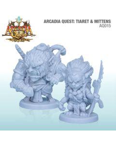 Arcadia Quest: Tiaret & Mittens