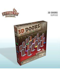 Zombicide: Black Plague: 3D Doors