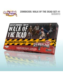Zombicide: Walk of the Dead - Box of Zombies set 1