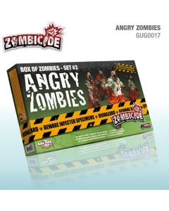 Zombicide: Angry Zombies - Box of Zombies Set #3