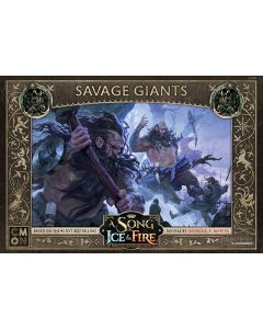 A Song of Ice and Fire: Savage Giants