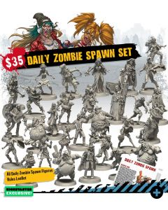 Zombicide: 2nd Edition: Daily Zombie Spawn Set