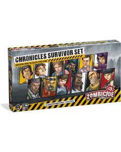 Zombicide: 2nd Edition: Chronicles Survivors: Survivors from the Roleplaying Game