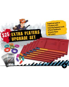 Zombicide: 2nd Edition: Extra Players Upgrade Set