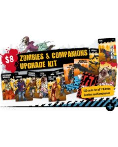 Zombicide: 2nd Edition: Zombies & Companions Upgrade Kit