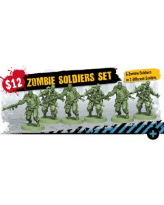 Zombicide: 2nd Edition: Zombie Soldiers Zombie Set