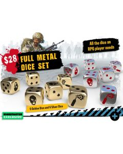 Zombicide: 2nd Edition: Full Metal Dice