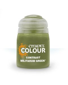 Citadel Contrast Paint: Militarum Green