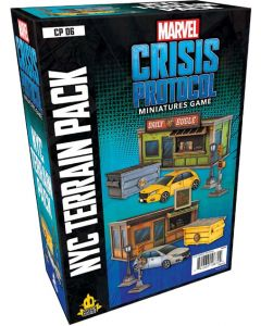 Marvel: Crisis Protocol: NYC Terrain Pack