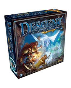 Descent: Journeys in the Dark Second Edition - Box