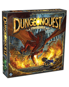 DungeonQuest Revised Edition - Box