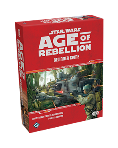 Star Wars: Age of Rebellion Beginner Game - Box