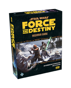 Star Wars Force and Destiny Beginner Game - Box