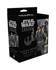 Star Wars: Legion: Cassian Andor and K-2SO Commander Expansion