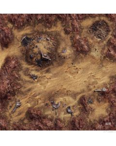 Star Wars: Legion: Desert Junkyard Gamemat