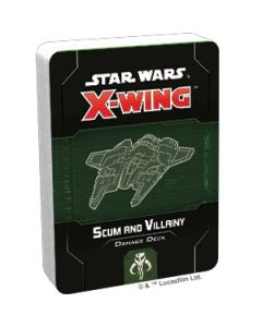 X-Wing Second Edition: Scum and Villainy Damage Deck