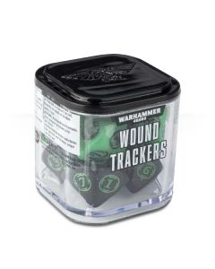 Warhammer 40k: Wound Trackers - Green and Black