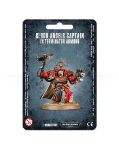 Warhammer 40k: Blood Angels Captain: Terminator Armour