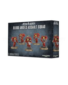 Warhammer 40k: Blood Angels Assault Squad
