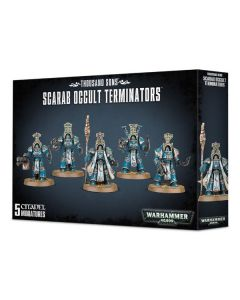 Warhammer 40k: Thousand Sons: Scarab Occult Terminators