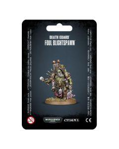 Warhammer 40k: Death Guard: Foul Blightspawn