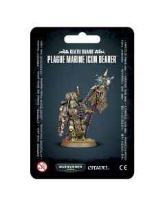 Warhammer 40k: Death Guard: Plague Marine Icon Bearer